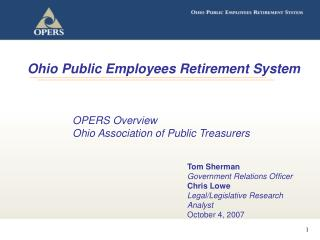 Ohio Public Employees Retirement System