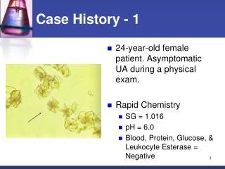 Case History - 1