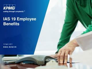 I AS 19 Employee Benefits