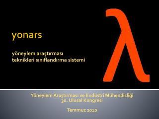 yonars