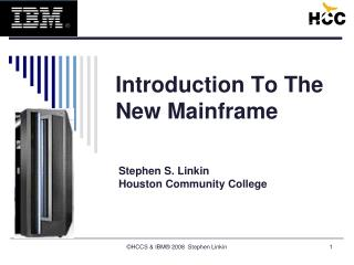Introduction To The New Mainframe