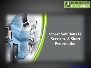 Get the Best of IT Support Sydney from Smart Solutions IT Se