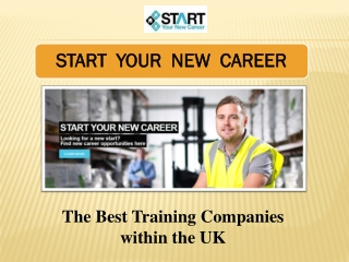 Training Courses by Start Your New Career