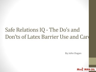 Safe Relations IQ - The Do