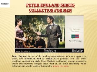 Peter England men