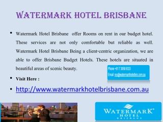 Brisbane Motels
