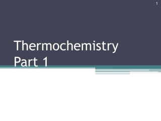 Chapter 6    Thermochemistry: Energy Flow and Chemical Change  Forms of Energy and their Interconversion  Enthalpy: Heat