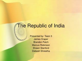 The Republic of India