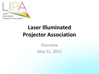 Laser Illuminated  Projector Association