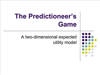 The Predictioneer s Game
