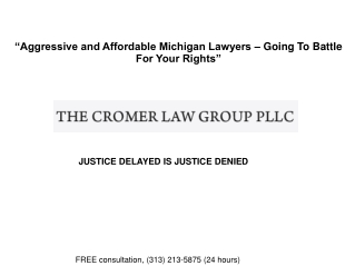 Michigan Fraud and Embezzlement Lawyers