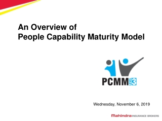 An Overview of People Capability Maturity Model