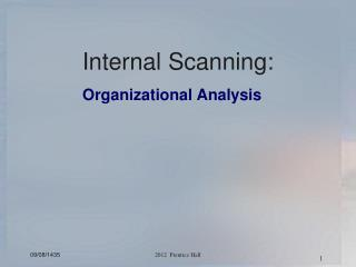 Internal Scanning: