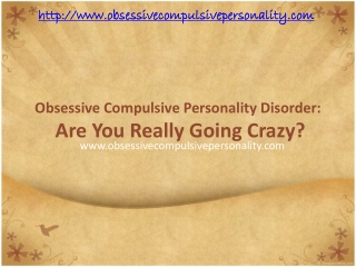 ocd: are you really going crazy?