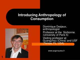 Introducing Anthropology of Consumption