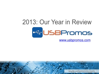 An Year In Review USB Promos