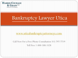 Chapter 7, 13 Bankruptcy Lawyer Utica