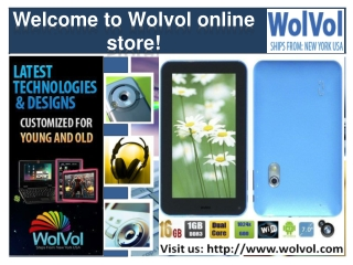 Welcome to Wolvol online store!