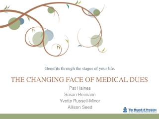 The Changing Face of Medical Dues