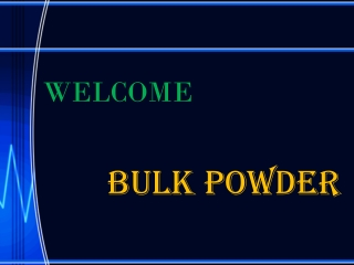Fiber powder supplements are special bulk supplements