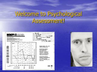 Welcome to Psychological Assessment