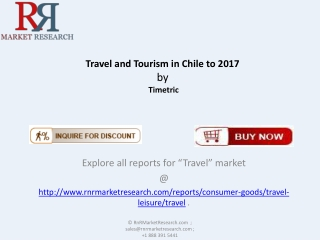 Travel and Tourism Market in Chile to 2017