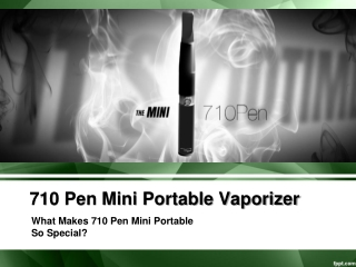 710 Pen Mini Portable Vaporizer
