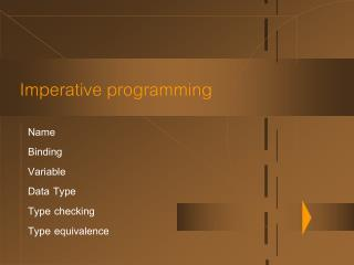 Imperative programming