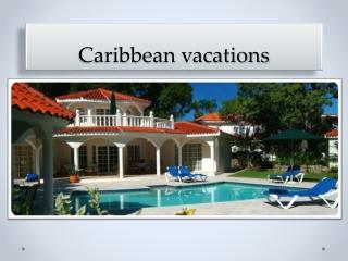 Caribbean vacations