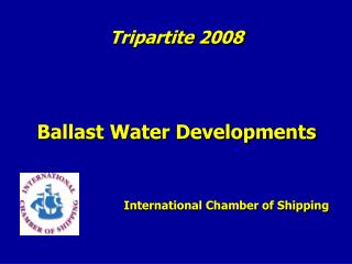 Ballast Water Developments