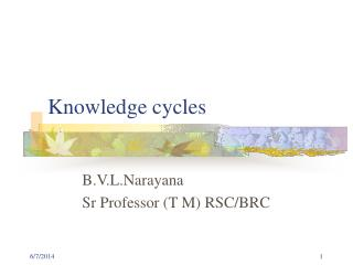 Knowledge cycles