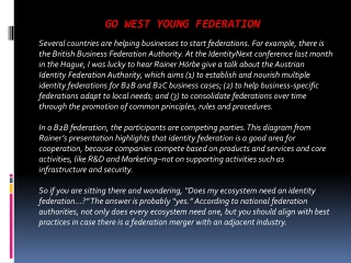 Go West Young Federation