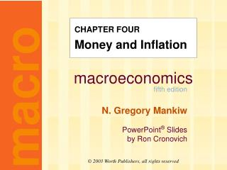 CHAPTER FOUR Money and Inflation