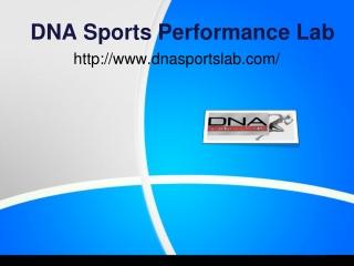 DNA Sports Performance Lab