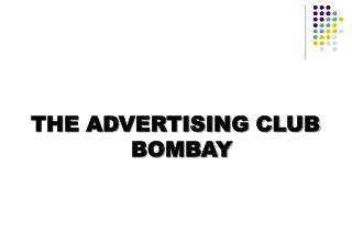 THE ADVERTISING CLUB BOMBAY
