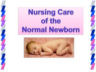 Nursing Care  of the  Normal Newborn