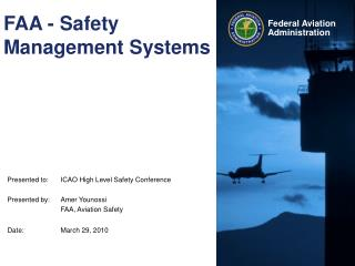 FAA - Safety Management Systems