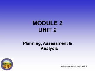 MODULE 2 UNIT 2