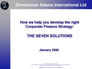 Zimmerman Adams International Ltd
