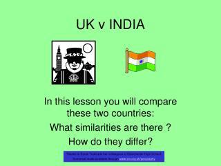 UK v INDIA