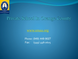 Best Orange County Private School