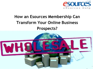 How an Esources Membership Can Transform Your Online Busines