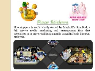 Floor Advertisements