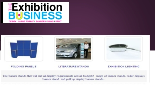 High Quality Banner Stand available online
