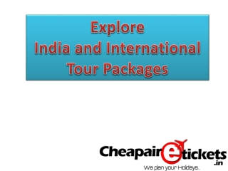 Book online india tour package with travel website