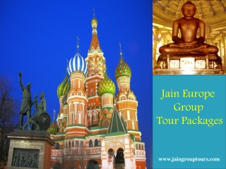 Jain Europe Group Tour Packages