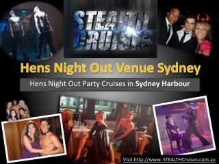 hens night cruises sydney