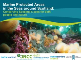 A new system for managing  Scotland's seas