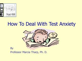 By Professor Marcia Tharp, Ph. D.