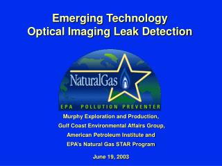 emerging technology optical imaging leak detection